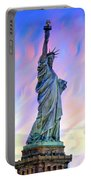 Lady Liberty Blues Portable Battery Charger