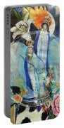 Lady Madonna Portable Battery Charger