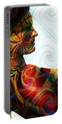 Lady Masquerade Portable Battery Charger