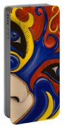 Lady Of Fire And Ice Portable Battery Charger