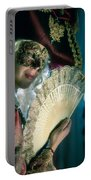 Lady Of Renaissance Portable Battery Charger