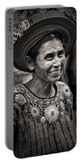 Lady Of Santiago Atitlan Portable Battery Charger