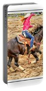 Lady Roping Portable Battery Charger