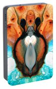 Lady Venus - Abstract Art By Sharon Cummings Portable Battery Charger