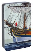 Lady Washington And Captain Gray Portable Battery Charger