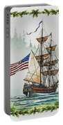 Lady Washington And Holly Portable Battery Charger