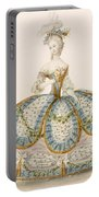 Lady Wearing Dress For A Royal Portable Battery Charger