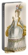 Ladys Ball Gown, Engraved By Dupin Portable Battery Charger