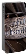 Lafittes Blacksmith Shop Sign Portable Battery Charger