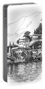 Lago Di Como-lenno - Vila Del Bilbianello Portable Battery Charger