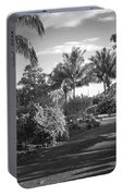 Lahaina Palm Shadows Portable Battery Charger