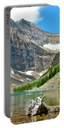 Lake Agnes In Banff Np-alberta Portable Battery Charger