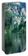 Lake And Trees, California Portable Battery Charger