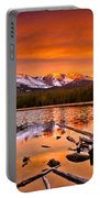 Lake Bierstadt In The Morn Portable Battery Charger
