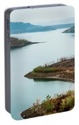 Lake Casitas In The Fog Portable Battery Charger