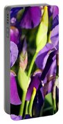 Lake Country Irises Portable Battery Charger