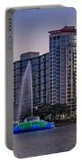 Lake Eola Water Fountain  Portable Battery Charger
