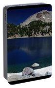 Lake Helen At Mt Lassen Triptych Portable Battery Charger