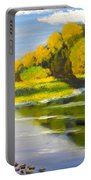 Lake Illawarra At Primbee Portable Battery Charger