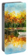 Lake Impression Portable Battery Charger