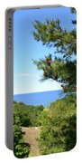Lake Michigan From The Top Of The Dune Portable Battery Charger