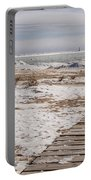 Lake Michigan Lighthouse Kewaunee Wisconsin Portable Battery Charger