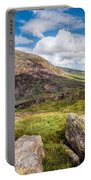 Lake Ogwen Portable Battery Charger by Adrian Evans