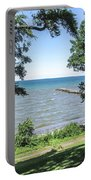 Lake Ontario At Webster Park Portable Battery Charger