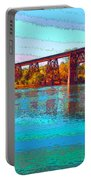 Lake Redding Ca Digital Painting Portable Battery Charger