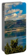 Lake Roosevelt Portable Battery Charger by Robert Bales