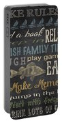 Lake Rules-relax Portable Battery Charger