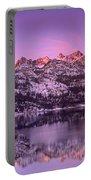 Lake Sabrina Sunrise Eastern Sierras California Portable Battery Charger