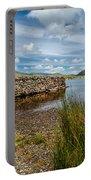 Lake Stone Wall Portable Battery Charger