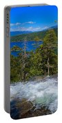 Lake Tahoe Waterfall Portable Battery Charger