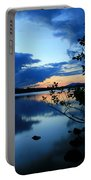 Lake Umbagog Sunset  Portable Battery Charger