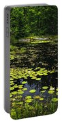 Lake With Lily Pads Portable Battery Charger