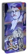 Lakers Love Jerry Buss 2 Portable Battery Charger