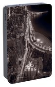 Lakeshore Drive Aloft Bw Warm Portable Battery Charger