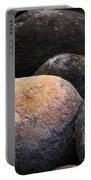 Lakeside Rocks At Lake Annette Portable Battery Charger