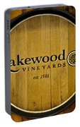 Lakewood Vineyards Portable Battery Charger
