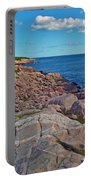 Lakies Head In Cape Breton Highlands Np-ns Portable Battery Charger