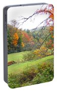 Lamance Valley In The Fall Portable Battery Charger