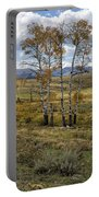 Lamar Valley In The Fall - Yellowstone Portable Battery Charger