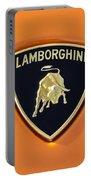 Lamborghini Emblem -0525c55 Portable Battery Charger