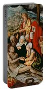 Lamentation For Christ Portable Battery Charger