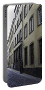 Lamp Post In Cologne Germany Alley Portable Battery Charger