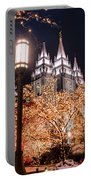 Lamp Post Slc Temple Portable Battery Charger