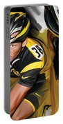 Lance Armstrong Artwork Portable Battery Charger