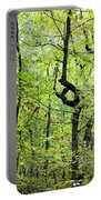 Landmark In A Dense Forest Portable Battery Charger