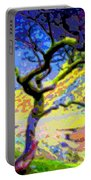 Landscape Art Tree Life Portable Battery Charger